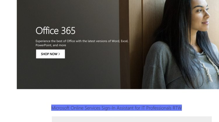 Office 365 MsolService