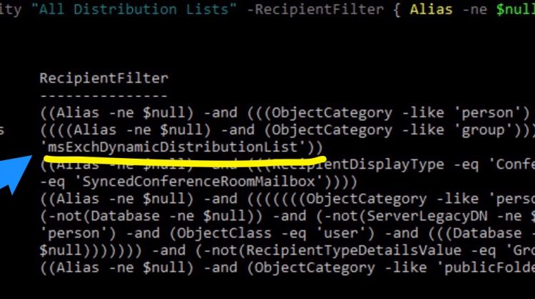 """How to add """"DynamicDistributionList"""" to your GAL in the """"All Distribution Lists"""""""